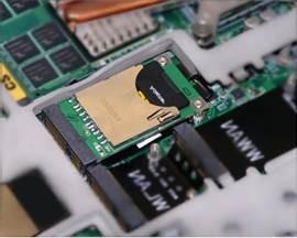 Aufrüstvariante für internen Einbau über PCIe
