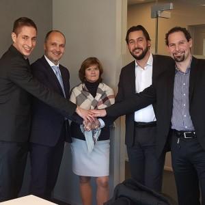 Johannes Reichenberger, Josef Langer, Edith Wippel, Enrico Baumann, Thomas Conte