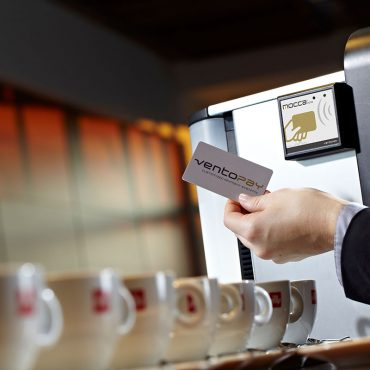 cashless payment with vending machine module mocca.vend