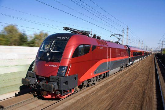 railjet © ÖBB/Eisenberger