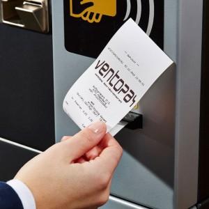 Digitaler Bon am Aufwerteautomat
