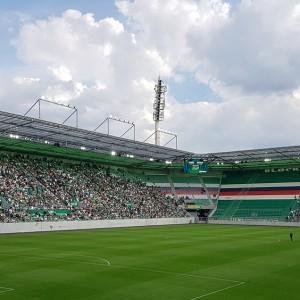 Das neu eröffnete Allianz Stadion des SK Rapid Wien.