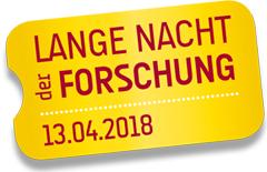 Logo Lange Nacht der Forschung 2018
