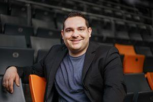 Marvin Stegmann, Projektleiter, ratiopharm arena