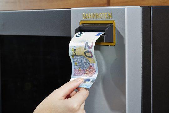 Aufwerteautomat fit für den neuen 20 € Schein