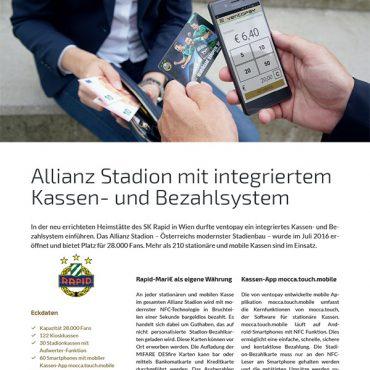 Case Study SK Rapid Allianz Stadion