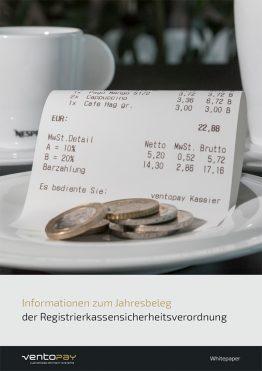 Whitepaper ventopay - Informationen zum Jahresbeleg der RKSV