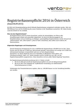 Whitepaper ventopay - Informationen zur RKSV 2016