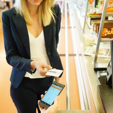 mocca.touch.mobile Bezahlen an der Kantinenkasse