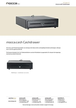 Datenblatt mocca.cash Cashdrawer