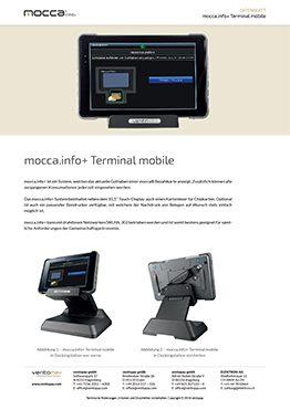 Datenblatt mocca.info+ Terminal mobile