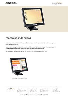 Datenblatt mocca.pos Standard