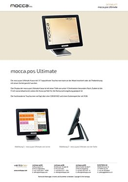 Datenblatt mocca.pos Ultimate