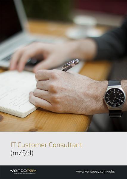 Jobausschreibung IT Customer Consultant