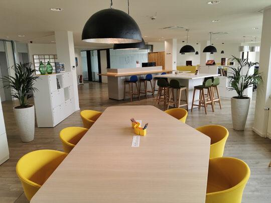 Lounge im neuen ventopay Büro in Essen