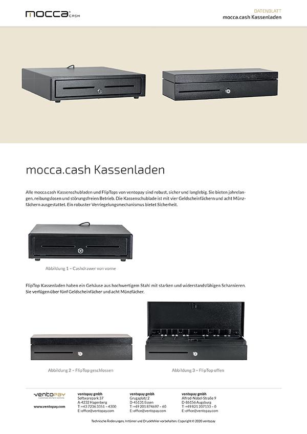 Datenblatt mocca.cash Kassenladen