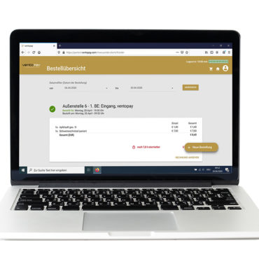 Bestellübersicht Vorbestellen mit Bestellsystem mocca.order