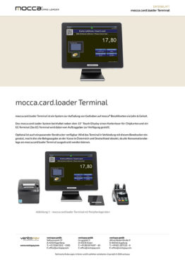 Datenblatt mocca.card.loader Terminal