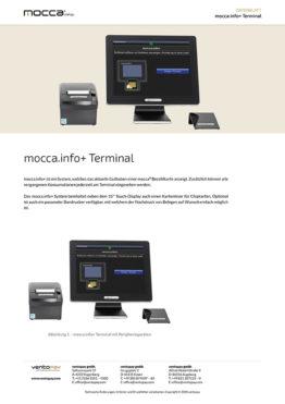 Datenblatt mocca.info+ Terminal