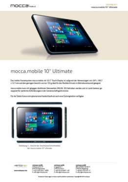 Datenblatt mocca.mobile 10'' Ultimate