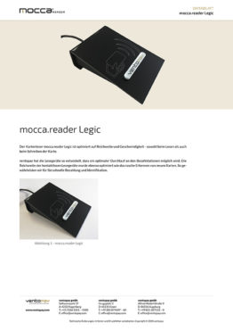 Datenblatt mocca.reader Legic
