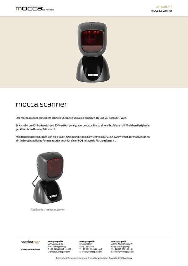 Datenblatt mocca.scanner Libra