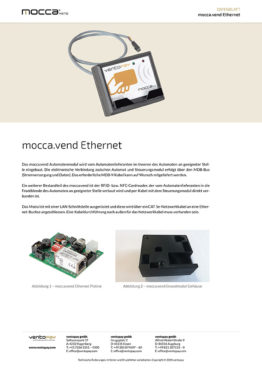 Datenblatt mocca.vend Ethernet