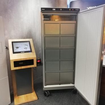 Kühlschranklösung mocca.order&collect